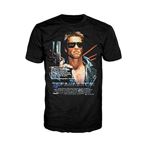 Terminator Movie Poster Official Men's T-Shirt