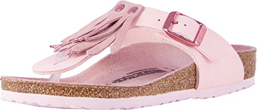 Birkenstock Gizeh Kid's Fringe Rose Birko-Flor Sandals 30 EU (US 12-12.5 Little Kid)