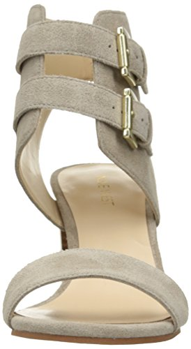 Nine West Galiceno Suede Sandales à talons Taupe