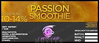 Twisted Aroma Passion Smoothie von Twisted Vaping