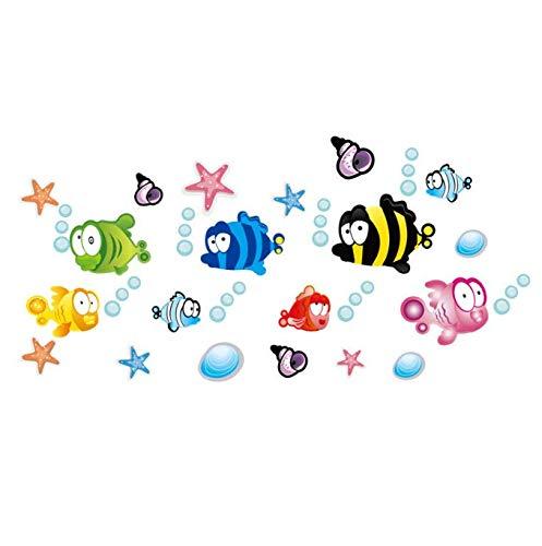 Flunder Fisch Findet Nemo Wandaufkleber Cartoon Wandaufkleber Dekor Abnehmbare Vinyl Kindergarten Kinderzimmer Aufkleber Diy Abnehmbare 160 * 80 Cm