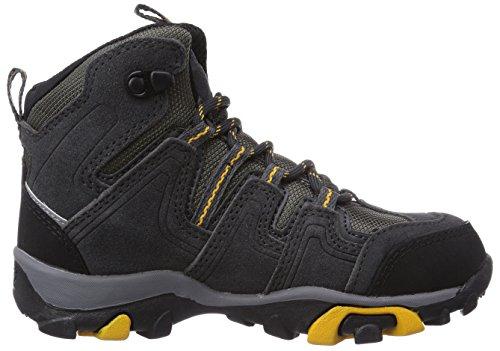 Jack Wolfskin MTN ATTACK MID TEXAPORE - Scarpe da trekking e scarponi, da uomo Grigio (Grau (burly yellow 3800))