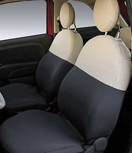 CORA 129379 Coprisedili Anteriori Personalizzati Fiat 500