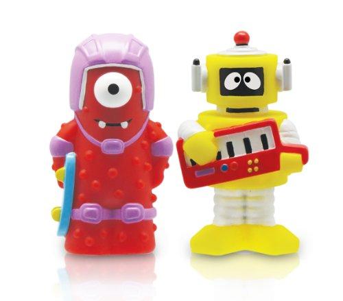Yo Gabba Gabba Muno and Plex 2 Pack Figure Set