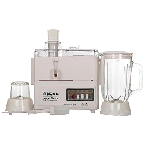 Nova Nj-531fp3 220/240 Watt Food Processor (white)