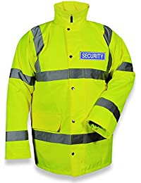 Protec Hi-Vis Class 3 Waterproof Security Jacket