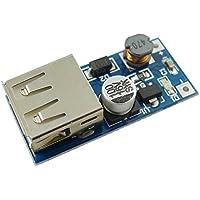 Aihasd 0,9V-5V a 5V DC-DC Convertidor de Voltaje USB Boost Step-up de presión Módulo de alimentación