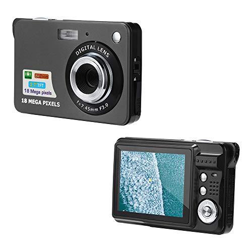 Altsommer Digitalkamera, 18MP Anti-Shake Face Detection Camcorder, Video Camcorder HD 1080P Digitalkamera mit 4Fachem Digitalzoom für Nikon Sony Sumsung Android
