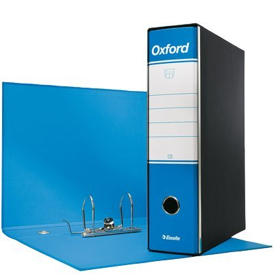 Registratori Oxford Esselte - protocollo - 8 cm - 23x33 cm - Azzurro - 390785800