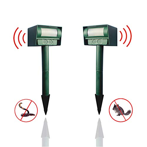Repellents Home & Garden Radient Cat Dog Animal Repeller Solar Energy Animal Driver Garden Outdoor Use Ultrasonic Solar Multi-function Bird Repeller Device Bringing More Convenience To The People In Their Daily Life