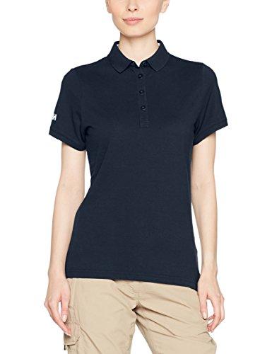 Helly Hansen Damen Crew Pique 2 Polo Hemd, Navy, L