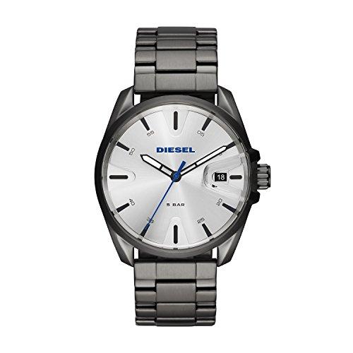 Diesel Herren Analog Quarz Smart Watch Armbanduhr mit Edelstahl Armband DZ1864