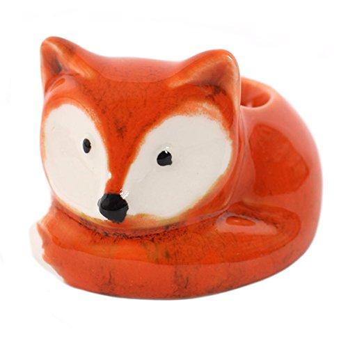 Fuchs Egg Cup / EIERBECHER - 1 Stück Rockabilly (In Form Woodland Ca)