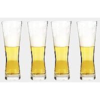 Taza De Cerveza, Taza De Cerveza Sin Plomo del Vidrio Cristalino, Taza del Jugo