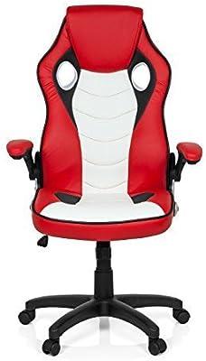 Silla para juegos / Silla de oficina Gaming Zone Pro Viper CL100 rojo / blanco