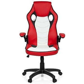 Bürostuhl clipart  Chefsessel Bürostuhl GAMING ZONE PRO CL100 Kunst-Leder Rot Weiß ...