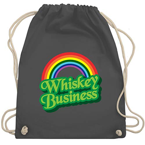 St. Patricks Day - Whiskey Business - Unisize - Dunkelgrau - WM110 - Turnbeutel & Gym Bag