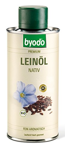 Byodo Natives Leinöl, 2er Pack (2 x 250 ml Dose) - Bio -