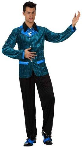 Jahre Herren 60er Kostüme (Blaues 60er-Jahre-Kostüm für Herren - M /)