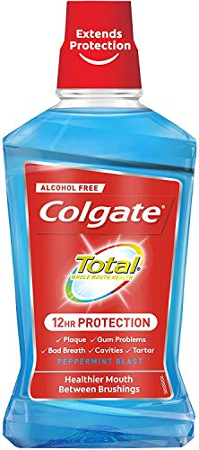 Enjuague bucal Colgate total pro guard 500ml
