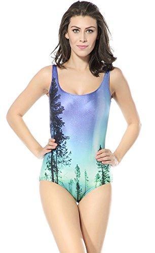 Thenice -  Costume intero  - Donna Forest landscape