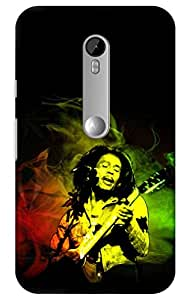 bob marley Designer Printed Back Case Cover for Moto G 3rd Generation