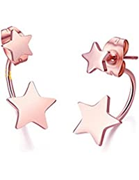 Boucles d'oreilles or fee