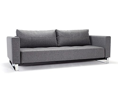 Innovation Cassius Deluxe Excess Lounger mit Chrombeinen