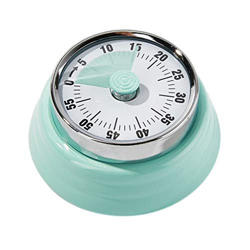 LQW HOME-Timer Macchine da Cucina Timer7.3 * 3.6cm Blue Pink Promemoria Cronometro Conto alla rovescia Grande Schermo Compactcarrying Comodo preciso (Color : Light Green, Dimensione : 7.3 * 3.6cm)