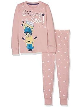 NAME IT Mädchen Zweiteiliger Schlafanzug Nitminions Beth Nightset Nmt