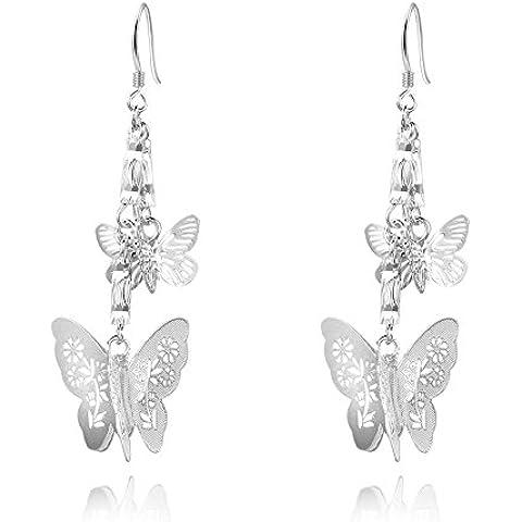 Fashion NYKKOLA Beautiful Jewelry-Collana in argento Sterling