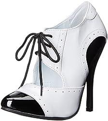 Ellie Shoes Women's 511-Gangster Slide Pump, Black, 9 M US