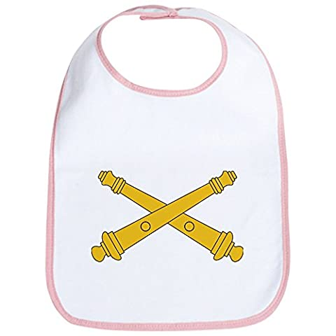 CafePress - Field Artillery Insignia - Cute Cloth Baby Bib, Toddler Bib