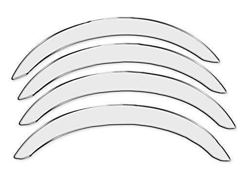 R.S.N. 113 Crom acciaio inossidabile, Parafanghi ruota archi , Parafanghini passaruota crom