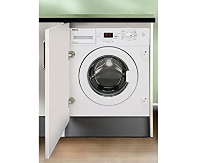 Beko WMI81341 Integrated Washing Machine, 8kg Load, A+ Energy Rating, 1300rpm Spin from Beko