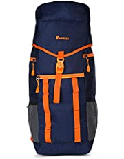 Impulse Waterproof Travelling Trekking Hiking Camping Bag Backpack Series 55 litres Orange Mt. Radiant Rucksack