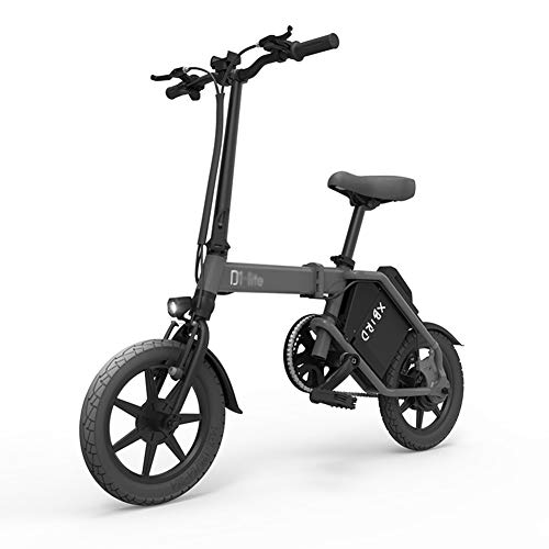 ABYYLH Elektrofahrrad Klappbar Herren/Damen Faltbar E-Bike Roller Adult E-Faltrad,Black
