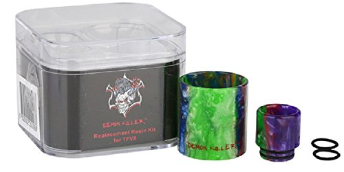 Demon Killer Ersatzglas Resin Tube + Mundstück Drip Tip, Eleaf iJust S, 4,0 ml