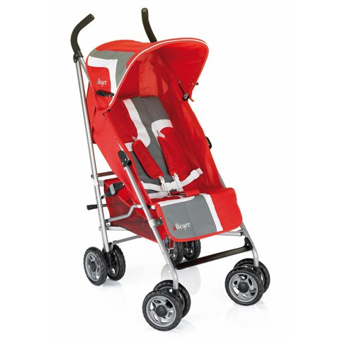 Umbrella folding stroller Champion - linea Allegro 233 red Brevi