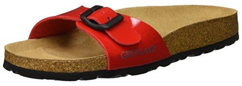 Grunland sara, scarpe da spiaggia e piscina donna, rosso (ciliegia), 40 eu