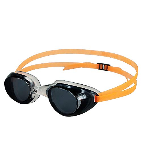 Barracuda Swim Goggle Mermaid - One-Piece Frame Soft Seals Streamlined Design, Anti-Fog UV Protection, Comfortable Fit Lightweight, Fashion Premium Quality for Adults Women Ladies IE-13155 (ORANGE) -