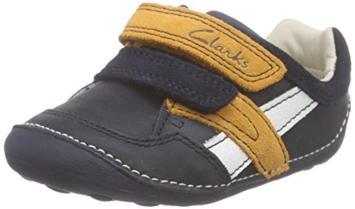 clarks-unisex-babies-tiny-zakk-first-shoes-sneakers-blue-size-4-child-uk