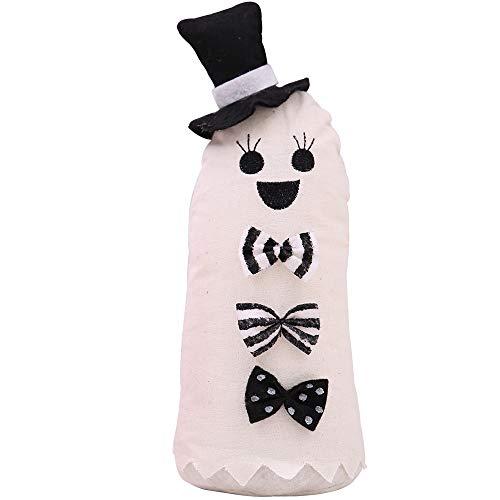 Katze Kostüm Krallen Fake - VICKY-HOHO Halloween Hexe Kürbis Katze Dekoration Home Ornament Plüsch gefüllte Puppe Spielzeug