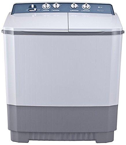 LG 8.5 kg Semi-Automatic Top Loading Washing Machine (P9560R3FA, Dark Grey)