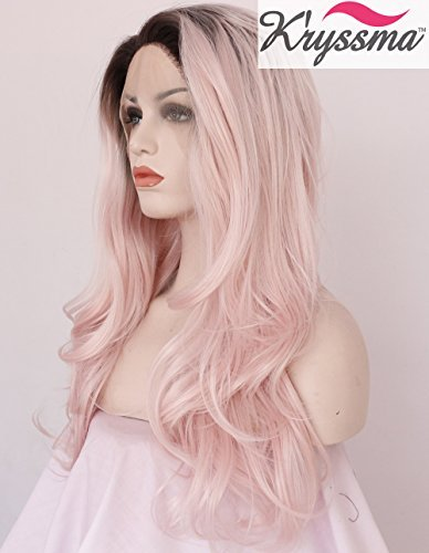 kryssma-fashionable-baby-pink-perruque-wavy-wig-ombre-longue-synthetic-lace-front-wigs-for-ladies-ha