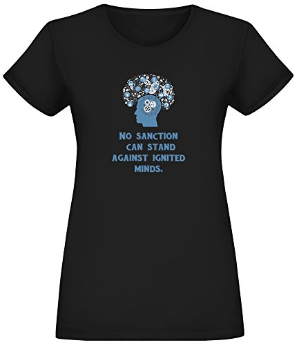 No Sanction T-Shirt for Women - 100% Soft Cotton - High Quality DTG Printing - Custom Printed Womens Clothing