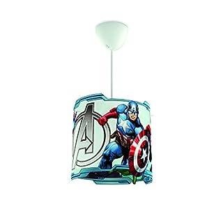 Philips Marvel Avengers Children's Ceiling Pendant Lightshade, Multi-Colour