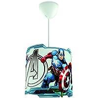 Philips Marvel Vengadores - lámpara colgante de techo, bombilla no incluida, color blanco