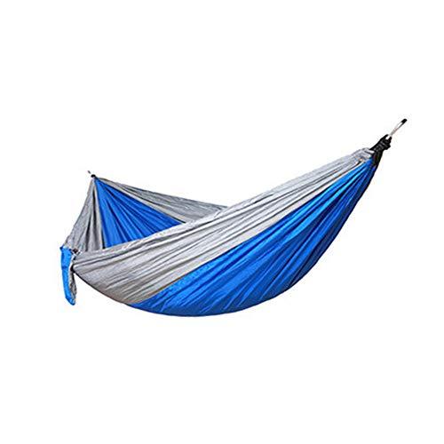 WESYY Hängematte, Ultraleicht, tragbar und atmungsaktiv, mit Premium Befestigung, für Reise Outdoor Camping Garten 275 * 140cm