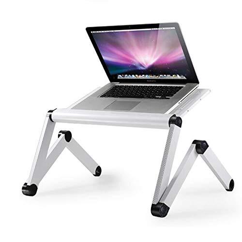 LLA Foldable Laptop Desk,Portable Laptop Desk Folding Desk Bed Sofa Laptop Stand Folding Computer Laptop Table Lazy Table Study Writing Desk Removable Laptop Desk,bianca
